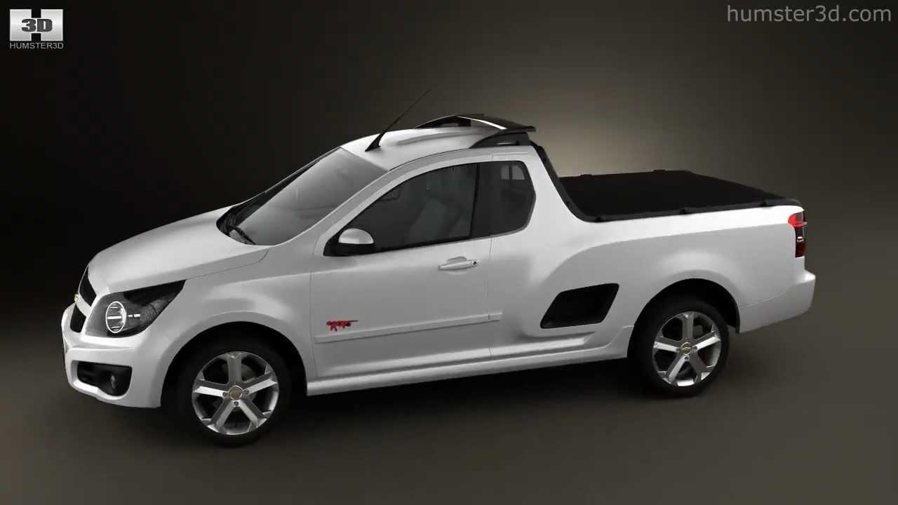 Chevrolet Montana (Tornado) 2012 - YouTube