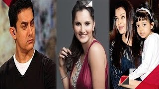 Sania Mirza Cracks Joke At Aamir | Aishwarya's Daughter Mistook Ranbir To Be Her Dad