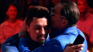 Grigory Leps sings dances and kisses the top of Mentors in Russia Voice 5