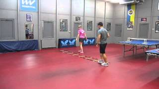FENERBAHÇE TABLE TENNIS YANA NOSKOVA  PHYSICAL EXERCISE 5