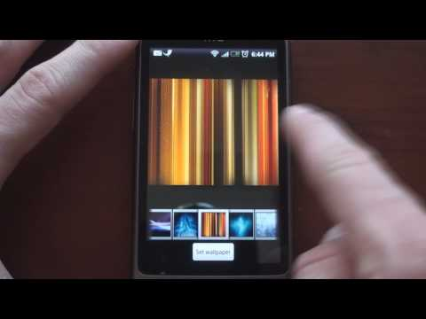 Video: HTC Desire Settings