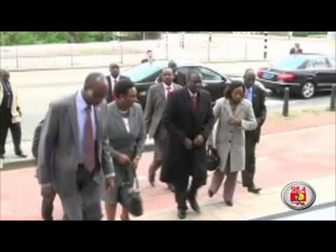 Ruto arrives in the Hague to attend ICC status conference