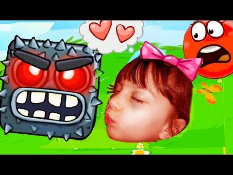 NEW Новый красный шарик RED BALL 4 против ЗЛЫХ КВАДРАТОВ смешное видео для детей Валеришка
