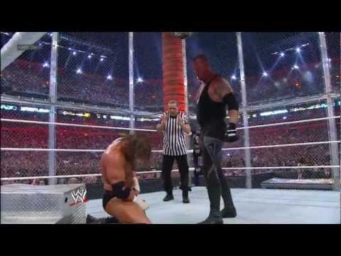 WWE Triple H vs Undertaker Wrestlemania 28 Highlights