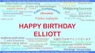 Elliott   Languages Idiomas - Happy Birthday