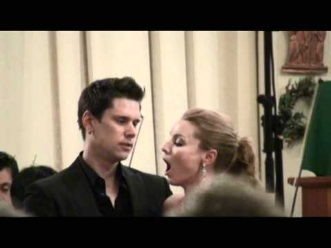 David and Sarah Joy Miller duet from Lucia Di Lammermoor St. Barth's 2011 part 2.mov