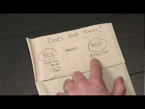 Napkin Theology 4 - Does God Exist?