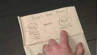 Napkin Theology 4 - Does God Exist?