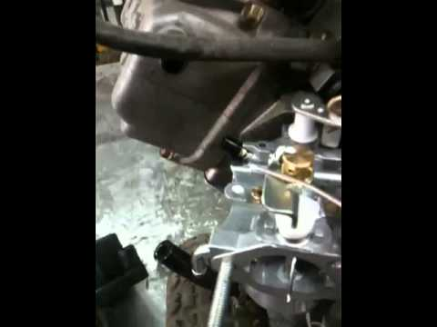 LAWNMOWER REPAIR: robin. subaru carburetor cleaning and tune-up