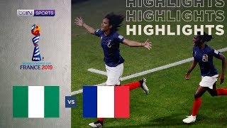 Nigeria 0-1 France   Women's World Cup Highlights