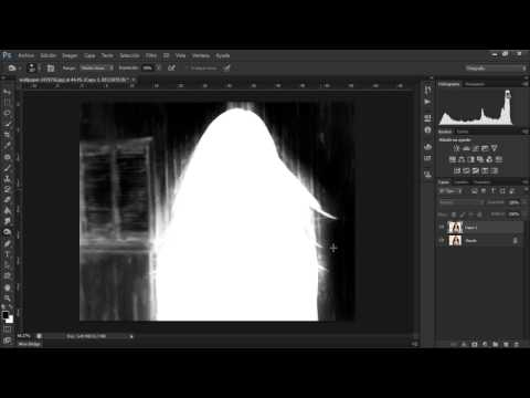 ADOBE PHOTOSHOP CS6 // RECORTE PROFESIONAL CON CANALES.wmv