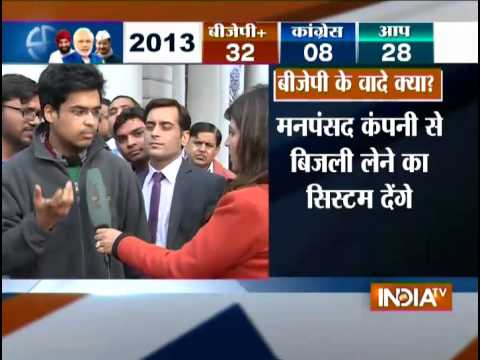 Delhi Assembly Election Trumpet is Blown - India TV