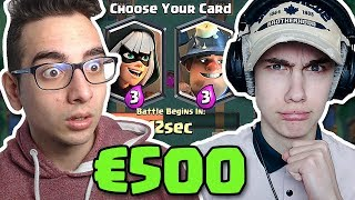 €500 KEUZEGEVECHT UITDAGING VS DUTCHTUBER! (Clash Royale NEDERLANDS)