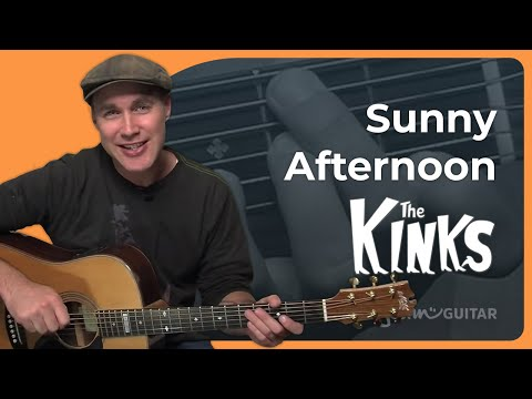 How To Play Sunny Afternoon By The Kinks (Guitar Lesson SB-401)