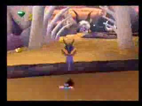PS1 Demo Disc [Spyro 2] Skelos Badlands