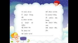 Cach hoc tieng Khmer nhanh nhat - Cach ghep van B1