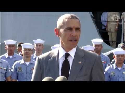 Obama vows 'ironclad' commitment to defend the Philippines
