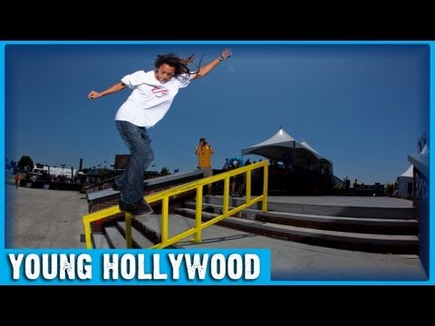 How To Ollie with Pro-Skateboarder Nyjah Huston!