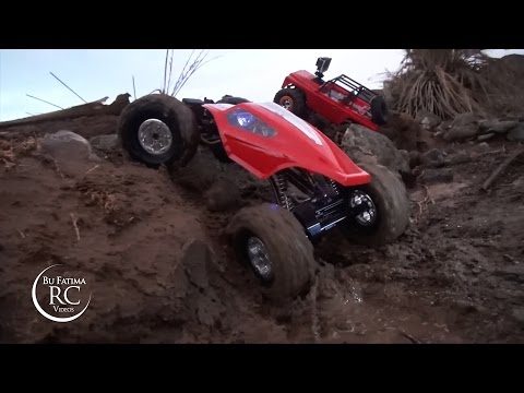 Mud CLiMB. RC TRUCKS in TRAiL سيارات كراولر