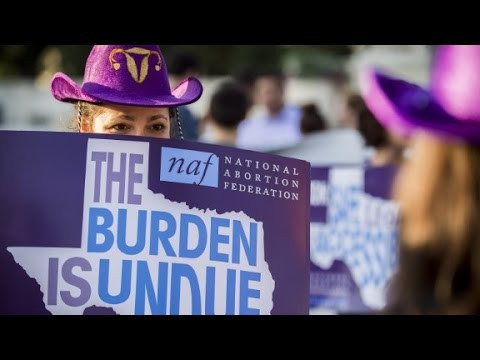 Supreme Court rules on Texas abortion law
