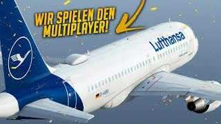 Flight Simulator X ✈️ Mit dem Airbus A319 in den Multiplayer