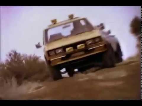 1980 Datsun 720 4x4 truck Commercial