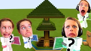 WHO MAKES THE BEST TREE HOUSE in Minecraft Gaming w/ The Norris Nuts