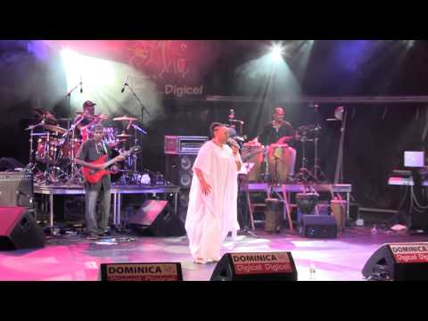 OPHELIA live at World Creole music Festival 2012 featuring Michele Henderson and Webster MARIE