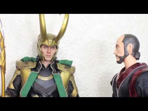 The Avengers Hot Toys Loki Movie Masterpiece 1/6 Scale Collectible Figure Review