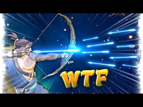 ONE in a MILLION Hanzo Arrow..!   Overwatch Best and Funny Moments - Ep.50