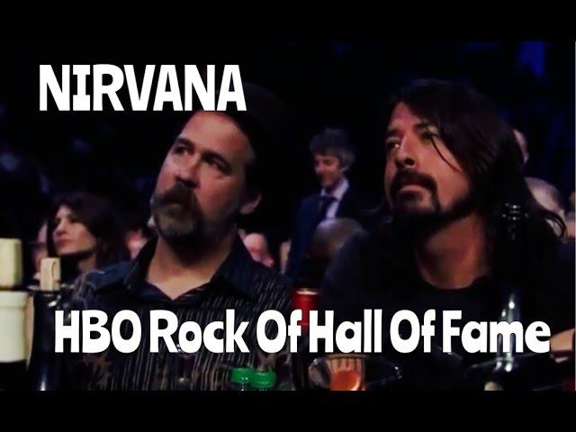 Nirvana HBO Rock Hall of Fame 2014 (Full Videos)