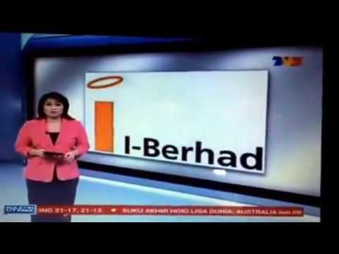 TV3 Bulletin Utama 29 June 2015 I Berhad sasar RM500 juta jualan pada 2018