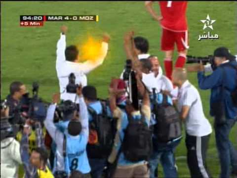 Maroc Mozambique 4-0: But Nourdin Amrabet (المغرب الموزمبيق - هدف امرابط)