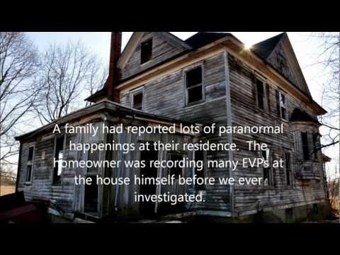 Our best EVPs from a haunted house in Rogersville, TN (All Class A)..  GHOST VOICES
