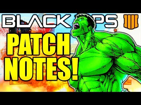 BLACK OPS 4 1.13 PATCH NOTES! NEW GUNS/NEW MAPS OPERATION GRAND HEIST BLACK OPS 4 PATCH UPDATE 1.13!
