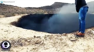 """BURNING """"Impact"""" Crater Discovered In Mexico.."""