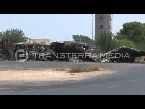 Aftermath Of The Attack On Tripoli International Airport