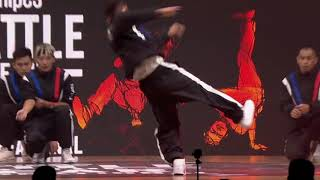 Top Coalition (Taiwan) - SNIPES Battle Of The Year 2018 - Showcase