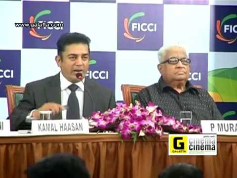 Dr Kamal Haasan at FICCI Press Conference Part 1