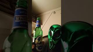 Emerald Green Alien from planet Zork- Moneytrain5G