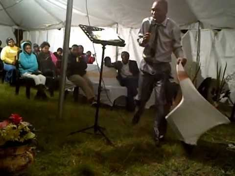 Pastor Rhoda with Latter Days Movement at Mdantsane NU9 hosted by Apostle Nyeleka