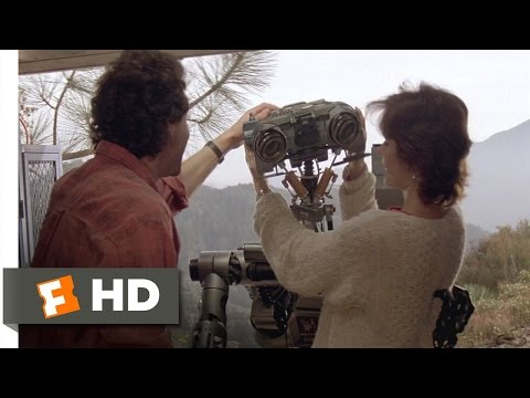 Short Circuit (8/8) Movie CLIP - Number 5 Is Still Alive (1986) HD