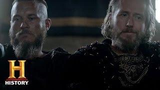 Vikings: Ragnar and Ecbert Talk Strategy (Season 3, Episode 4)   History