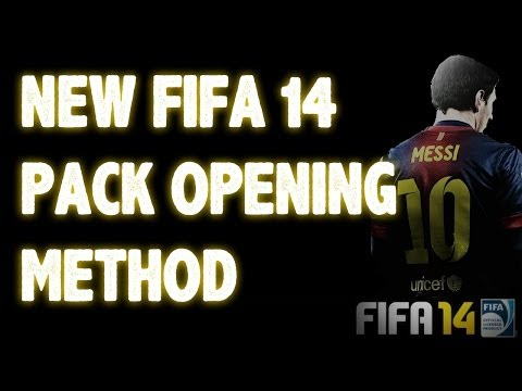 FIFA 14 NEW Pack opening method #1   Better Packs!