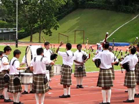 King's Piper Medley in Singapore Pipe Band Championship 2009