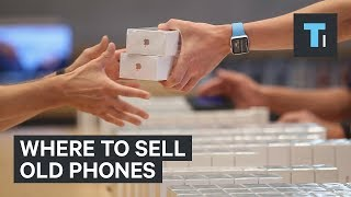 Here are the best places to sell your old iPhones and other gadgets