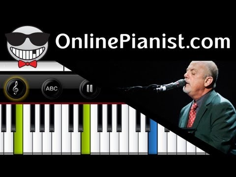 Billy Joel - We Didn't Start The Fire - Piano Tutorial video