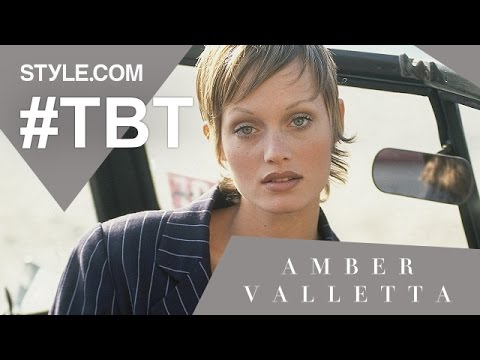 Amber Valletta: The Original Waif - #TBT With Tim Blanks - Style.com