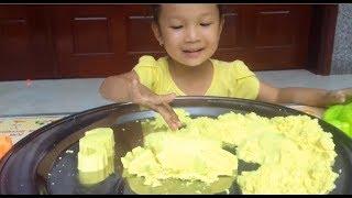 Trò Chơi Cát Động Lực Màu Vàng ❤ KN Cheno Bé Na ❤  Đồ Chơi Trẻ Em toys for kids