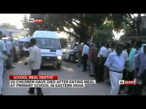 20 Indian Children Dead From Free Lunch video